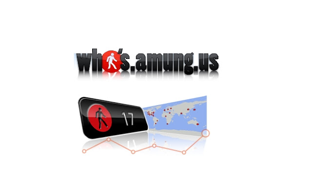 who amung us stats Online users widget blogs
